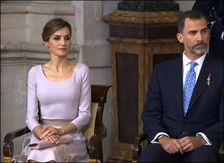 Letizia, Felipe, Order of Civil Merit, 19 juni 2015