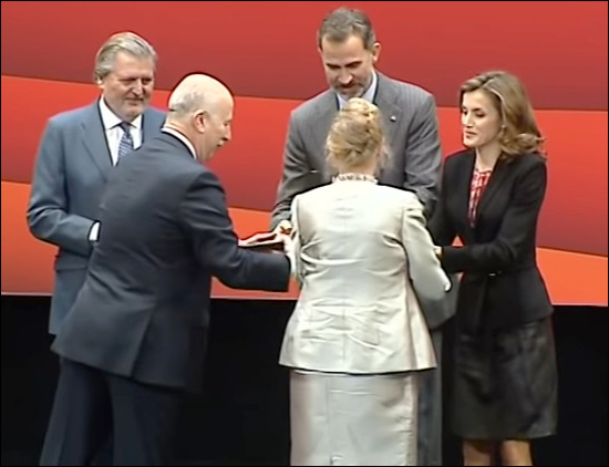 Letizia, Felipe, Gold medal of Merit in the Fine Arts, 5 december 2016