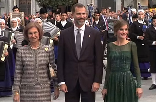 Letizia, Prince of Asturias Awards, oktober 2013