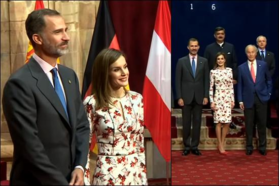 Letizia, ontmoeting winnaars, Princess of Asturias Awards