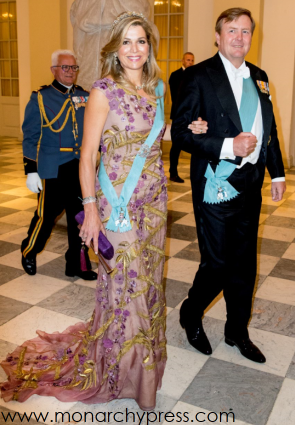 Gala T G V De 50e Verjaardag Van Kroonprins Frederik Van Denemarken